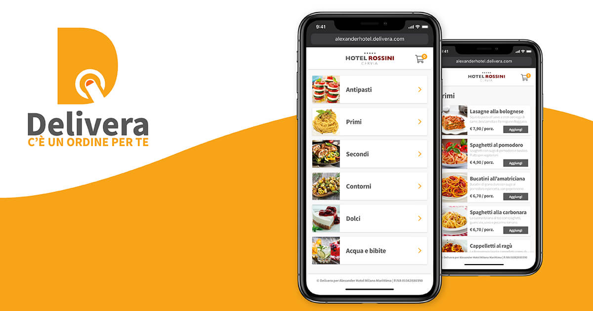 Delivera - APP per Take Away